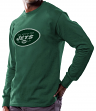 New York Jets Majestic NFL Critical Victory Men's Long Sleeve Green T-Shirt
