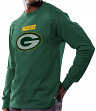 Green Bay Packers Majestic NFL Critical Victory Men's Long Sleeve Green T-Shirt