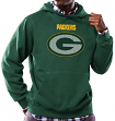 Green Bay Packers Majestic NFL Critical Victory Hooded Sweatshirt - Green