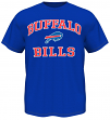 Buffalo Bills Majestic NFL Heart & Soul III Men's Blue T-Shirt