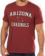 Arizona Cardinals Majestic NFL Heart & Soul III Men's Red T-Shirt