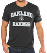 Oakland Raiders Majestic NFL Heart & Soul III Men's Black T-Shirt