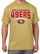 "San Francisco 49ers Majestic NFL ""Extra Point"" Men's Short Sleeve T-Shirt"