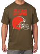 "Cleveland Browns Majestic NFL ""Empty Backfield"" Men's Short Sleeve T-Shirt"