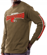 Cleveland Browns Majestic NFL Primary Receiver Long Sleeve Men's T-Shirt