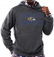 "Baltimore Ravens Majestic NFL ""Kick Return"" Hooded Sweatshirt - Charcoal"
