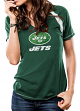 """New York Jets Women's Majestic NFL """"Go For Two"""" Short Sleeve T-shirt"""