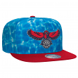 "Atlanta Hawks Mitchell & Ness NBA ""Surf Camo"" Snap Back Hat"