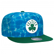 "Boston Celtics Mitchell & Ness NBA ""Surf Camo"" Snap Back Hat"