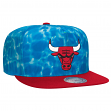 "Chicago Bulls Mitchell & Ness NBA ""Surf Camo"" Snap Back Hat"