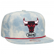 "Chicago Bulls Mitchell & Ness NBA ""Lite Denim"" Adjustable Snap Back Hat"