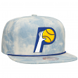 """Indiana Pacers Mitchell & Ness NBA """"Lite Denim"""" Adjustable Snap Back Hat"""