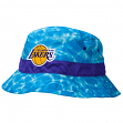"Los Angeles Lakers Mitchell & Ness NBA ""Surf Camo"" Bucket Hat"