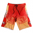 "San Francisco 49ers NFL ""Gradient"" Men's Boardshorts Swim Trunks"