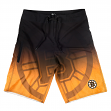 "Boston Bruins NHL ""Gradient"" Men's Boardshorts Swim Trunks"