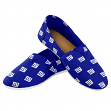 New York Giants Women's NFL 2015 Pattern Slip On Canvas Shoe Slippers