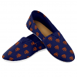 Chicago Bears Women's NFL 2015 Pattern Slip On Canvas Shoe Slippers