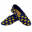 Michigan Wolverines Women's NCAA 2015 Pattern Slip On Canvas Shoe Slippers