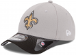 New Orleans Saints New Era 39THIRTY 2015 Official Draft Day Flex Fit Hat - Gray