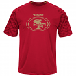 "San Francisco 49ers Majestic NFL ""Skill in Motion"" Men's Cool Base T-Shirt"