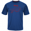 "Buffalo Bills Majestic NFL ""Skill in Motion"" Men's Cool Base T-Shirt"
