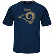 "St. Louis Rams Majestic NFL ""Skill in Motion"" Men's Cool Base T-Shirt"