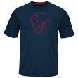 "Houston Texans Majestic NFL ""Skill in Motion"" Men's Cool Base T-Shirt"