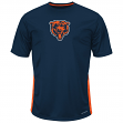 "Chicago Bears Majestic NFL ""To The Limits"" Men's Cool Base T-Shirt"