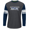 "Seattle Seahawks Majestic NFL ""Down to the Wire"" Men's L/S Thermal Shirt"