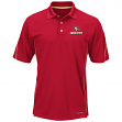 """San Francisco 49ers Majestic """"Field Classic"""" Men's Cool Base Polo Shirt - Red"""