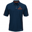 "Chicago Bears Majestic ""Field Classic"" Men's Cool Base Polo Shirt - Navy"