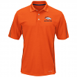 "Denver Broncos Majestic ""Field Classic"" Men's Cool Base Polo Shirt - Orange"