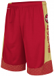 "San Francisco 49ers Majestic NFL ""Strong Will"" Men's Synthetic Shorts"