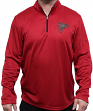 "Atlanta Falcons Majestic ""Ready"" Men's 1/4 Zip Therma Base Pullover Shirt"