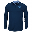 "Tennessee Titans Majestic ""Ready"" Men's 1/4 Zip Therma Base Pullover Shirt"