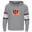 "Cincinnati Bengals Majestic NFL ""Winning"" Men's Hooded Sweatshirt - Gray"