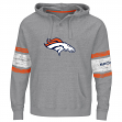 "Denver Broncos Majestic NFL ""Winning"" Men's Hooded Sweatshirt - Gray"