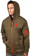 "Cleveland Browns Majestic ""Action"" Men's F/Z Therma Base Hooded Sweatshirt"