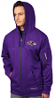 "Baltimore Ravens Majestic ""Action"" Men's F/Z Therma Base Hooded Sweatshirt"