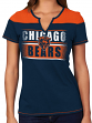 """Chicago Bears Women's Majestic NFL """"Football Miracle"""" Fashion T-shirt"""