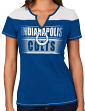 "Indianapolis Colts Women's Majestic NFL ""Football Miracle"" Fashion T-shirt"