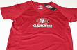 "San Francisco 49ers Women's Majestic NFL ""Power Run"" V-Neck Cool Base T-shirt"