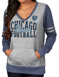 "Chicago Bears Women's Majestic NFL ""Performer"" Lightweight Pullover Shirt"