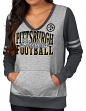 "Pittsburgh Steelers Women's Majestic NFL ""Performer"" Lightweight Pullover Shirt"