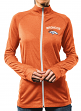 "Denver Broncos Women's Majestic NFL ""Wins Count"" Full Zip Sweatshirt"