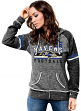 "Baltimore Ravens Women's Majestic NFL ""Tide"" Full Zip Fleece Sweatshirt"