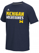"Michigan Wolverines Adidas NCAA ""Shock Energy"" Sideline Performance S/S Shirt"