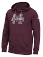 "Mississippi State Bulldogs Adidas ""Stitched Shock""Sideline Hooded Sweatshirt"