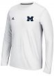 "Michigan Wolverines Adidas NCAA 2015 ""Primary Screen"" Men's L/S Shirt"