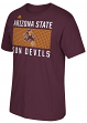 "Arizona State Sun Devils Adidas NCAA ""Big Pattern"" Men's Short Sleeve T-Shirt"